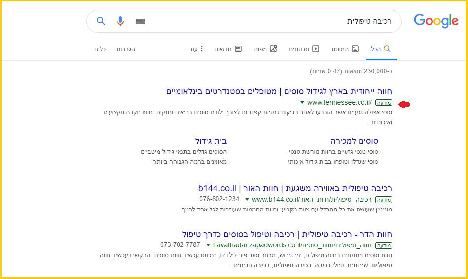 גוגל לעמותות